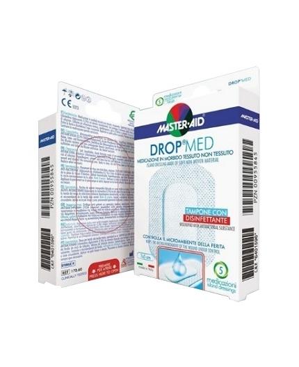 MASTER-AID DROP MED MEDICAZIONE COMPRESSA AUTOADESIVA 7X5 5 PEZZI - Farmapage.it