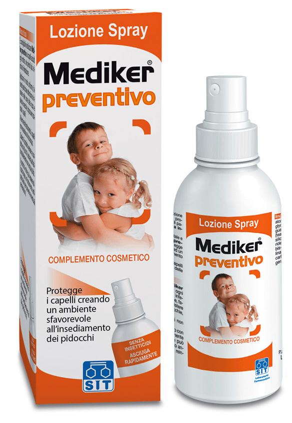 MEDIKER PREVENTIVO LOZIONE SPRAY 100 ML - Farmacia Centrale Dr. Monteleone Adriano