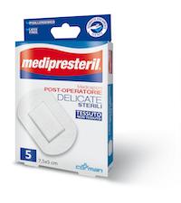 Medipresteril Medicazione Post Operatoria Delicata Sterile 7,5 x 5 5 Pezzi - Sempredisponibile.it