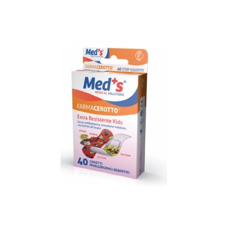 MEDS FARMACEROTTO EXTRA RESISTENTE KIDS  40 PEZZI  - Farmapage.it