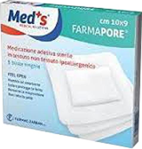 MEDS PORE MEDICAZIONE ADESIVA 10X23 CM 3 PEZZI - Farmacia Centrale Dr. Monteleone Adriano