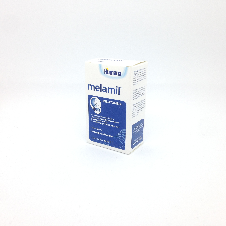 Milte Italia MelaMil Milte Integratore Alimentare Di Melatonina 30ml - Farmacia 33