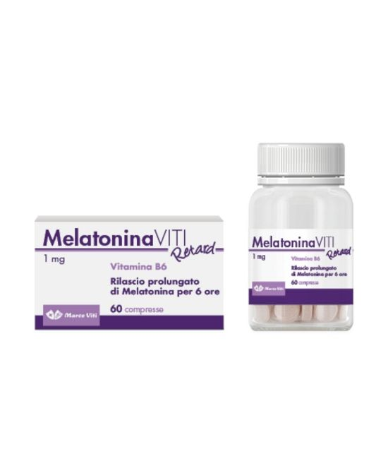 MELATONIN RETARD 1 MG 60 COMPRESSE IN FLACONE CON ASTUCCIO - Farmapage.it