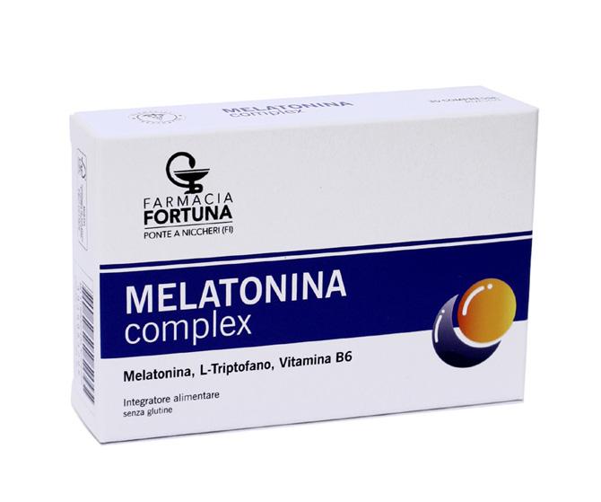 TuaFarmaonLine MELATONINA complex Integratore Sonno e Relax 30 Compresse