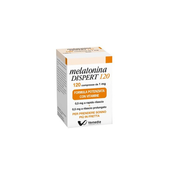 Melatonina Dispert 1mg Integratore Alimentare 120 Compresse - Farmapage.it