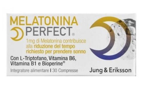 MELATONINA PERFECT JUNG & ERIKSSON 30 COMPRESSE - Farmafirst.it