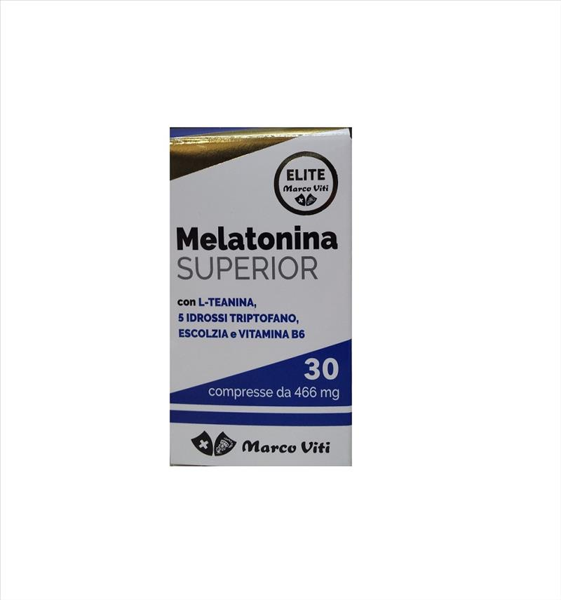 MELATONINA SUPERIOR 30 COMPRESSE - Farmafamily.it