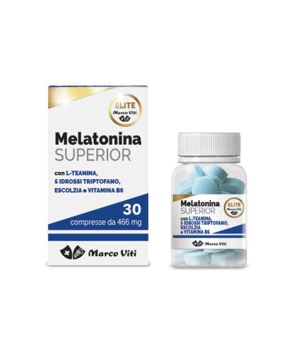 MELATONINA SUPERIOR 30 COMPRESSE - Farmapage.it