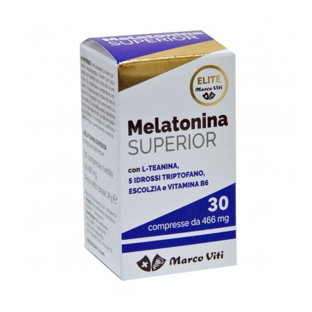 MELATONINA SUPERIOR 30 COMPRESSE - Iltuobenessereonline.it