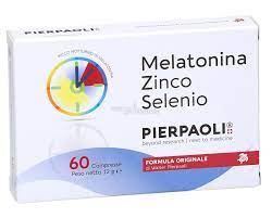 MELATONINA ZINCO SELENIO PIERPAOLI 60 COMPRESSE - Farmawing