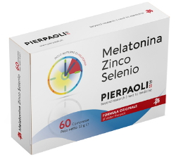 MELATONINA ZINCO SELENIO PIERPAOLI 60 COMPRESSE - Farmaciacarpediem.it