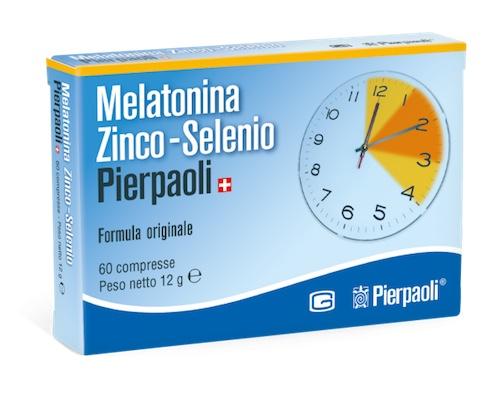 Melatonina Zinco Selenio Pierpaoli 60 Compresse - Farmalilla