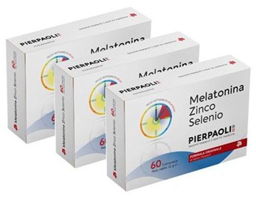 MELATONINA ZINCO SELENIO PROMO PACK 3 PEZZI - Farmacia Centrale Dr. Monteleone Adriano