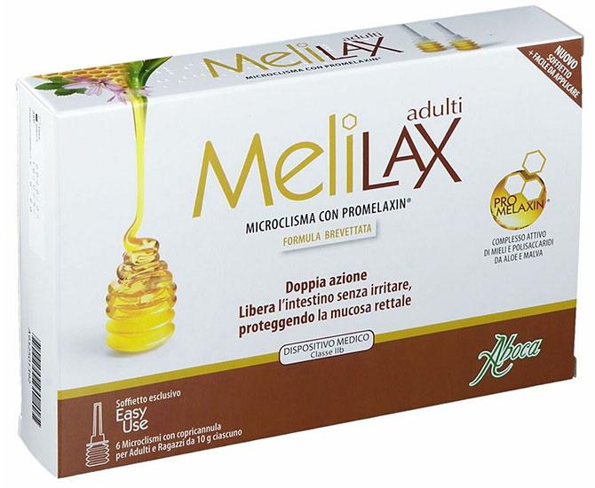 Aboca MELILAX ADULTI MICROCLISMI 6 pz - Farmacielo