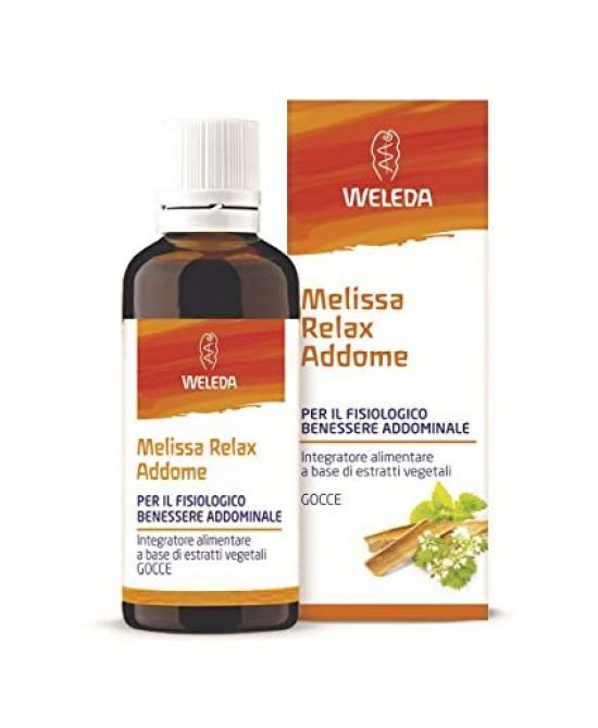 MELISSA RELAX ADDOME 50 ML - Parafarmacia la Fattoria della Salute S.n.c. di Delfini Dott.ssa Giulia e Marra Dott.ssa Michela