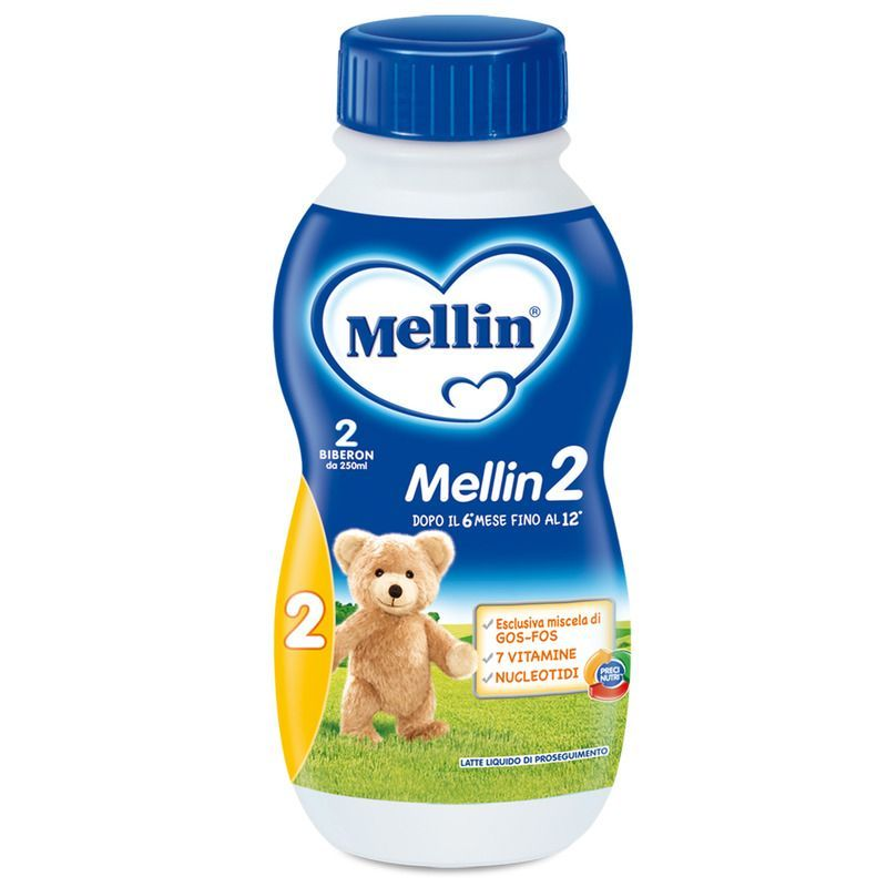 Mellin 2 Latte 500 ml - Farmalilla