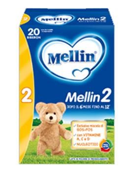 Mellin 2 Latte Polvere 700 g - Farmalilla