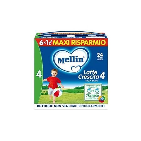 MELLIN 4 LATTE 6X1000 ML - Farmaconvenienza.it