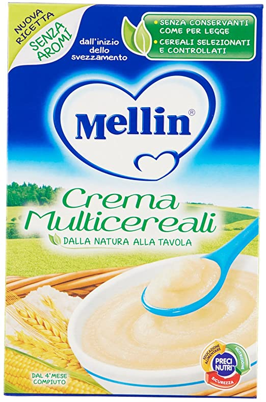 MELLIN CREMA MULTICEREALI 200 G - Farmacia Massaro