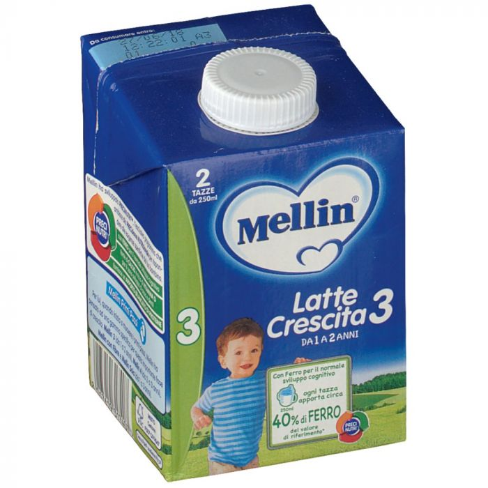 Mellin Latte Crescita 3 Liquido 500ml - Farmafamily.it