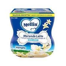 MELLIN MERENDA LATTE BANANA 2 X 100 G - Farmajoy