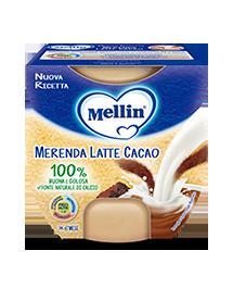 MELLIN MERENDA LATTE CACAO 2 X 100 G - DrStebe