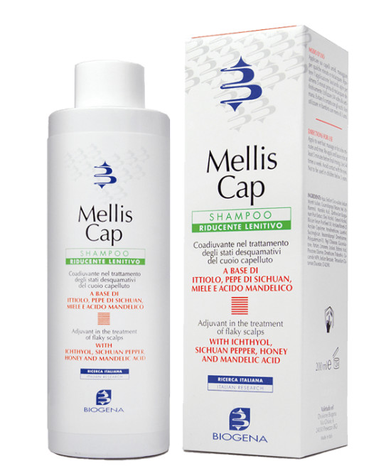 MELLIS CAP SHAMPOO RIDUCENTE E LENITIVO 200 ML - Farmaci.me