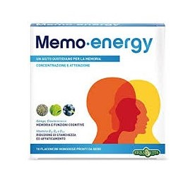 MEMO ENERGY 10 FLACONCINI X 12 ML - FARMAEMPORIO