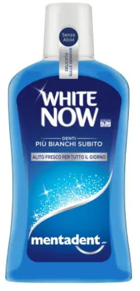 MENTADENT COLLUTORIO WHITE NOW 500 ML - Farmacia Centrale Dr. Monteleone Adriano
