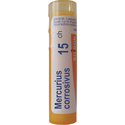 Mercurius Corrosivus 15ch Granuli - Farmalilla