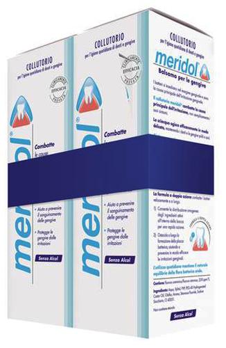 MERIDOL COLLUTORIO BIPACCO 2 X 400 ML - Farmacia Centrale Dr. Monteleone Adriano