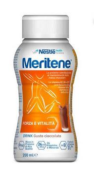 MERITENE FORZA E VITALITÀ DRINK CIOCCOLATO 200ML - Iltuobenessereonline.it