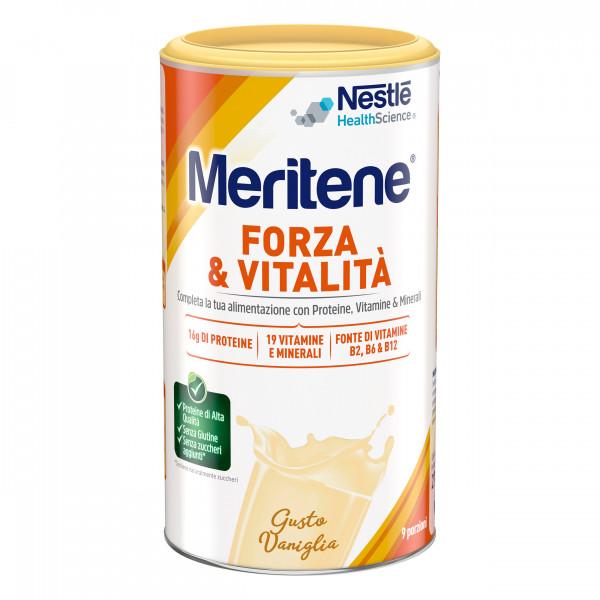 MERITENE  FORZA E VITALITÀ POLVERE VANIGLIA 270 G - Nowfarma.it