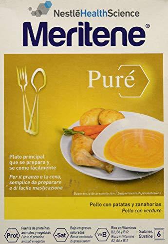 MERITENE PURE' INSTANT POLLO CON CAROTE 6 X 71 G - Farmafamily.it