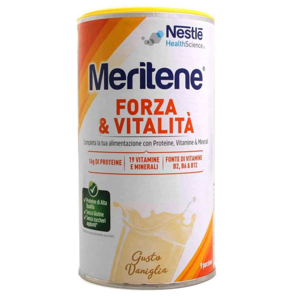 MERITENE VANIGLIA Polvere Protein 270 G - Farmafamily.it