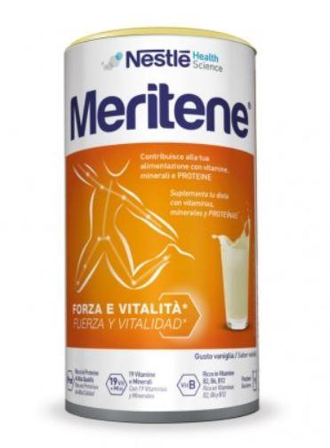 MERITENE VANIGLIA ALIMENTO ARRICCHITO 270 G - Farmafirst.it