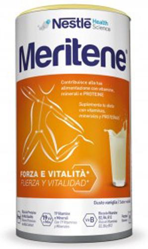 MERITENE VANIGLIA ALIMENTO ARRICCHITO 270 G - Farmacia Centrale Dr. Monteleone Adriano