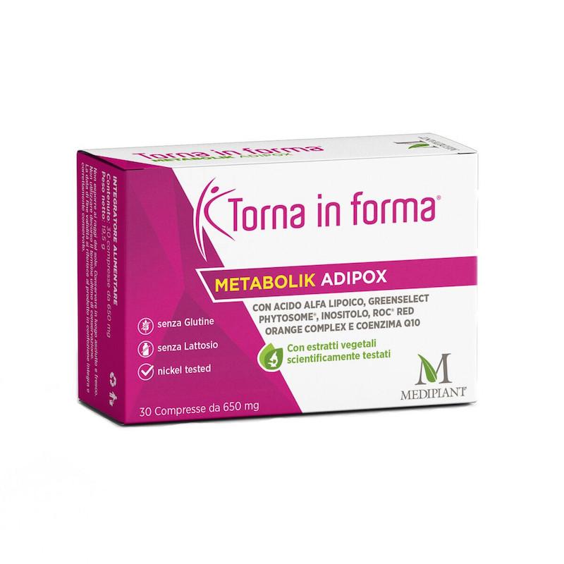 Torna In Forma Metabolik Adipox 30 Capsule - Arcafarma.it