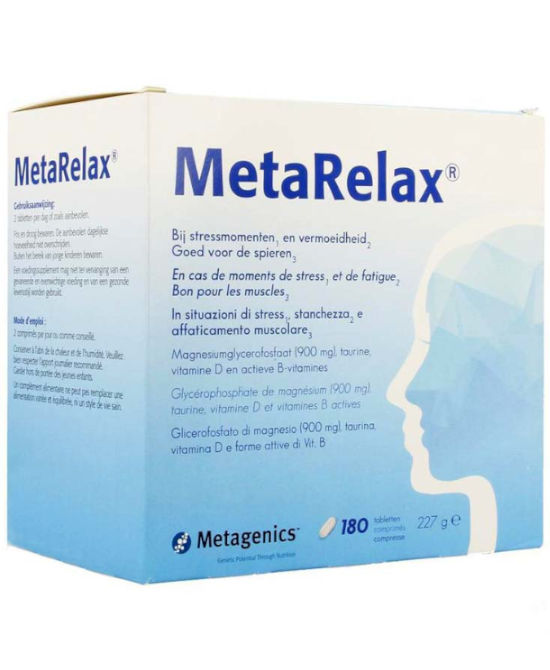 METARELAX 180 COMPRESSE - Farmaci.me