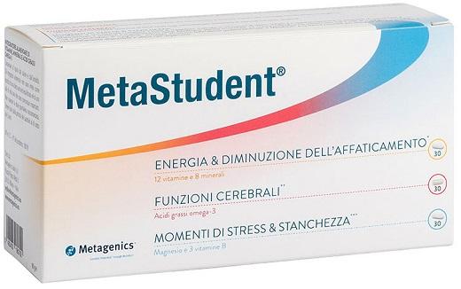 METAGENICS METASTUDENT 60 CAPSULE - Farmastar.it