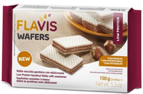 MEVALIA FLAVIS WAFER NOCCIOLA 150 G - Farmacia Centrale Dr. Monteleone Adriano