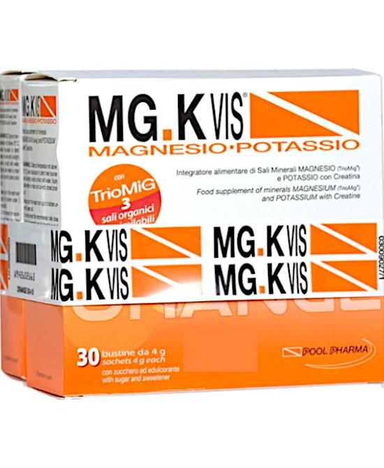 MGK VIS ORANGE ZERO ZUCCHERI 30 BUSTINE + 15 BUSTINE - Farmaci.me