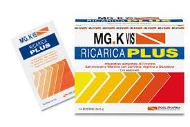 MGK VIS RICARICA PLUS 14 BUSTINE + 14 BUSTINE - farmasorriso.com