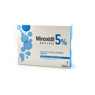MINOXIDIL BIORGA*SOL CUT 3FL5% - FARMAPRIME