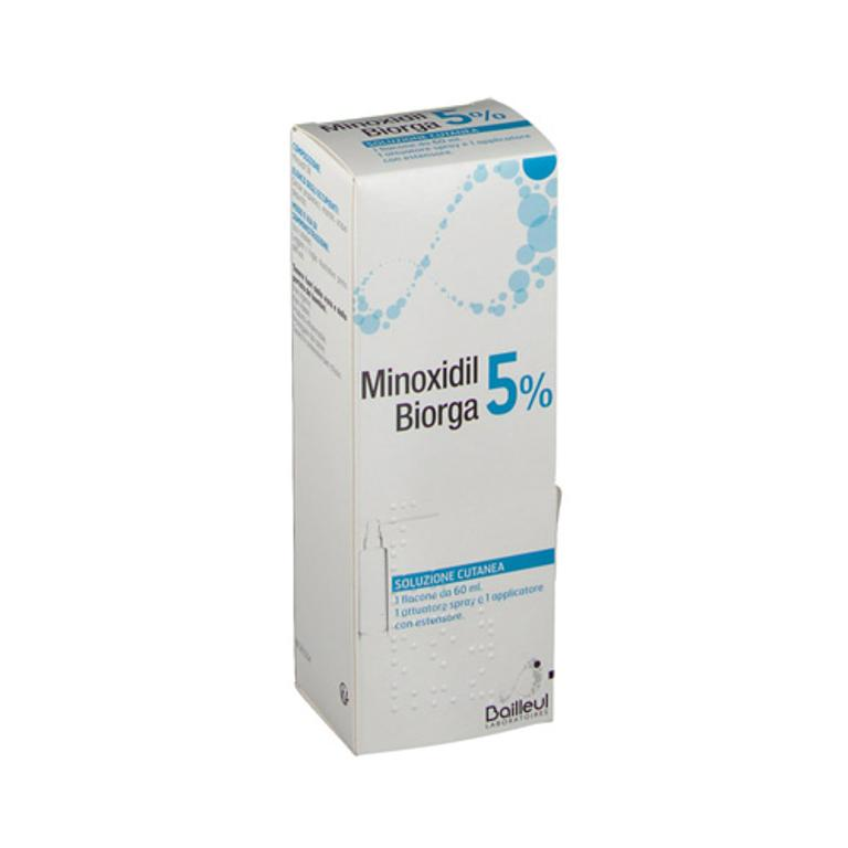 MINOXIDIL BIORGA*SOL CUT60ML5% - Farmacia Castel del Monte