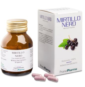 MIRTILLO NERO 50 CAPSULE - Farmacia 33