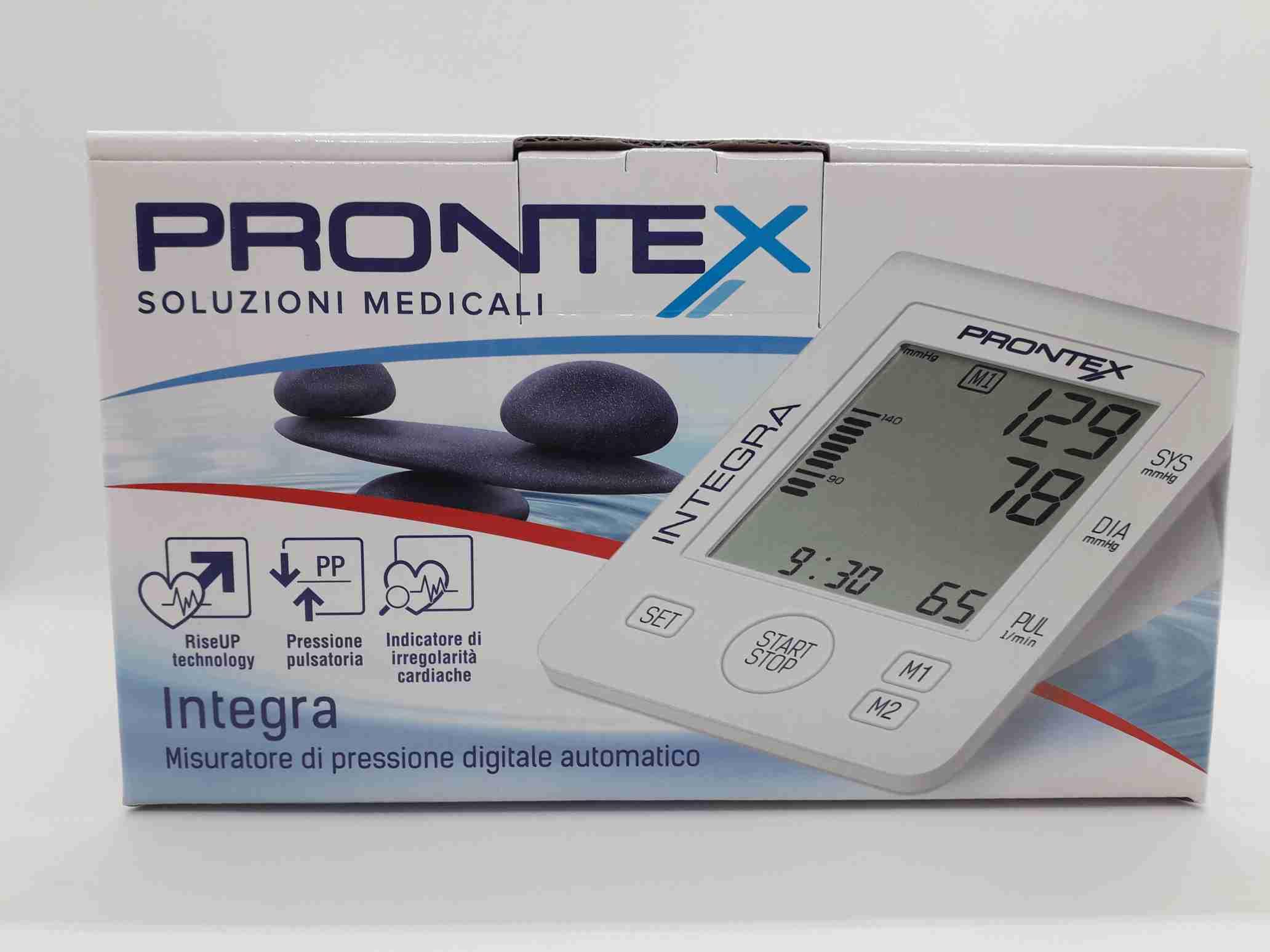 MISURATORE DI PRESSIONE DIGITALE PRONTEX INTEGRA AUTOMATICO - Farmaciaempatica.it