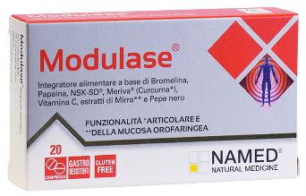 MODULASE 20 COMPRESSE GASTRORESISTENTI - Farmaciacarpediem.it