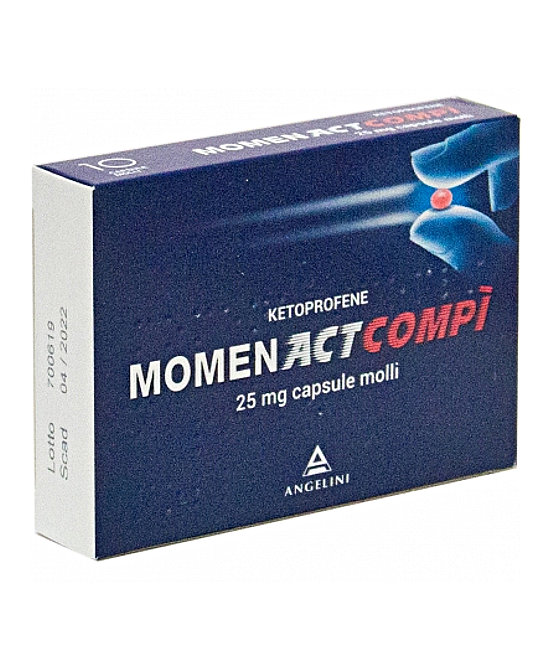MOMENACTCOMPI*10CPS 25MG - Farmaci.me