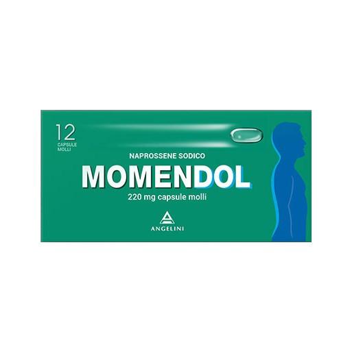 MOMENDOL*12CPS MOLLI 220MG - FARMAPRIME